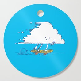 Cloud Skater Cutting Board