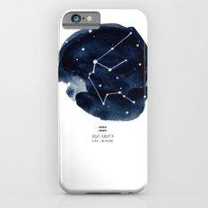 Zodiac Star Constellation - Aquarius iPhone 6s Slim Case
