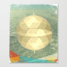 Space Dome Canvas Print