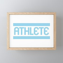 Athlete Framed Mini Art Print