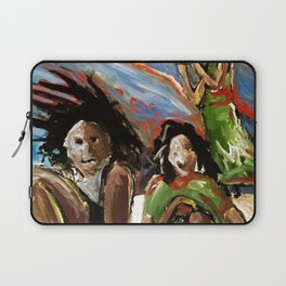 Egg in the Sky Laptop Sleeve