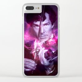 His Last Bow Clear iPhone Case