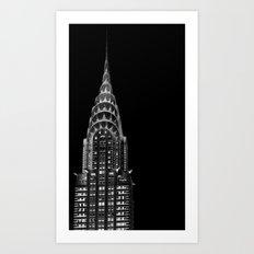 Dark side Art Print