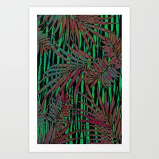 With the Heat of the Jungle, Comes the Cool of the Night Art Print
