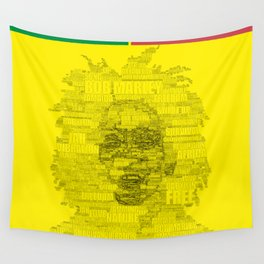 Words of Reggae Wall Tapestry