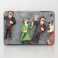 tintin iPad Cases featuring Tintin Toy by Cristina Ortiz Photo