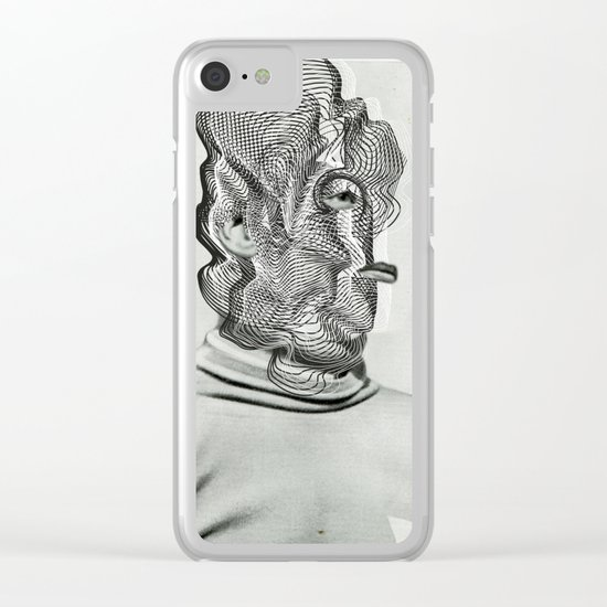 Another Portrait Disaster · a Man Clear iPhone Case