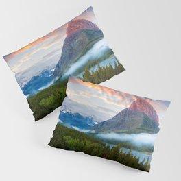 Glacier National Park Pillow Sham