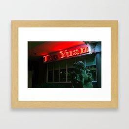 Tao Yuan Restaurant Sign  Framed Art Print