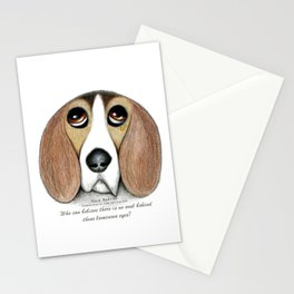 Soulful Eyes by Vale Marino Stationery Cards
