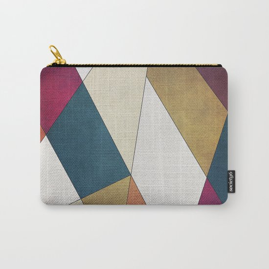 Geometric A/W Carry-All Pouch