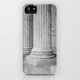 Columns at the US Supreme Court iPhone Case