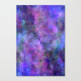 Blueberry Bubbles Canvas Print