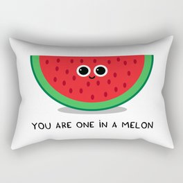 You are one in a MELON Rectangular Pillow