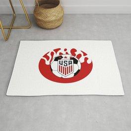 United States Soccer Rug