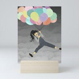 Balloon Ride Mini Art Print