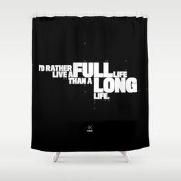 PLUX 0020: FULL LIFE Shower Curtain