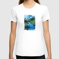 hawaii T-shirts featuring hawaii by Ca-roline