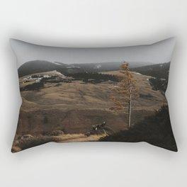 Lonely Birch Rectangular Pillow