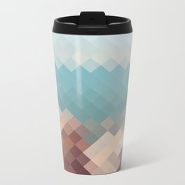 Cabo de Gata pattern Metal Travel Mug