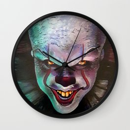 Clown it smile Wall Clock