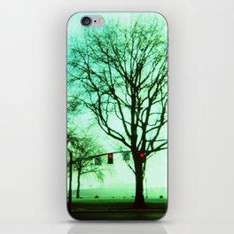 Green Fog iPhone Skin