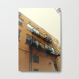 SOMETIMES THERES JUST NO ESCAPE Metal Print
