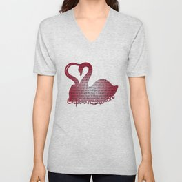 It's True Love Unisex V-Neck