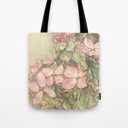Satomi Dogwood, Pencil Sketch II Tote Bag