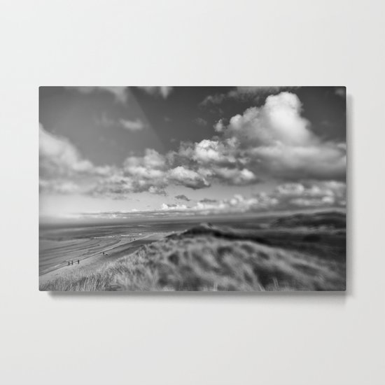 Dune Tilt Shift Metal Print