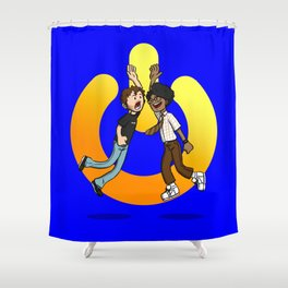 The Power of Friendship Shower Curtain