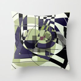 SRC Preparations Race Numbers: Five One Seven Throw Pillow