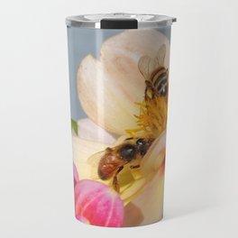 Honeybees at Work Travel Mug