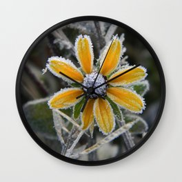 frozen smile Wall Clock