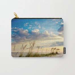 Sea Oats Beach Sunset Carry-All Pouch