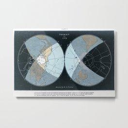 1769 Transit of Venus Metal Print