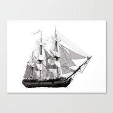 HMS Surprise Canvas Print