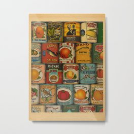 Canned in the USA Metal Print