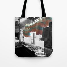 Coney Island Candy Store Cotton Candy Tote Bag
