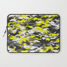 Whippet camouflage Laptop Sleeve