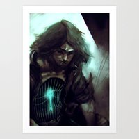 cage Art Prints featuring Cage by samkat