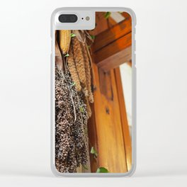 Woodwork and Whimsy Clear iPhone Case