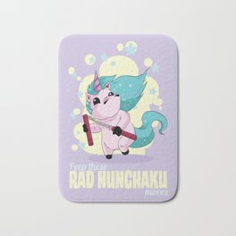 Rad Nunchaku Bath Mat