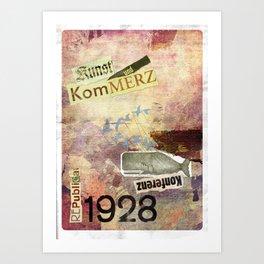 re:trospektive 1928: Kunst und Kommerz Art Print