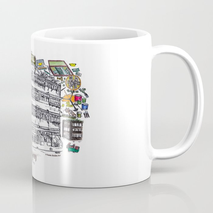 Mahjong in Hong Kong Coffee Mug