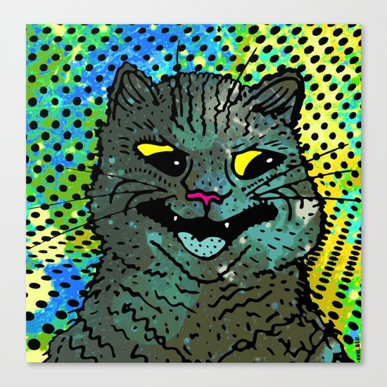 A CAT. Canvas Print
