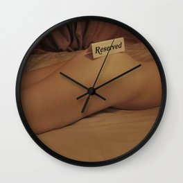 Reserved Wall Clock