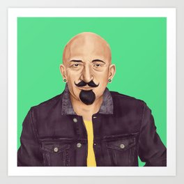 The Israeli Hipster leaders - Chaim Weizmann Art Print