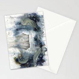midgard snake Stationery Cards