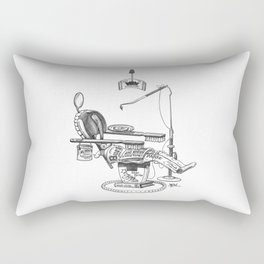 Dentist Chair Rectangular Pillow